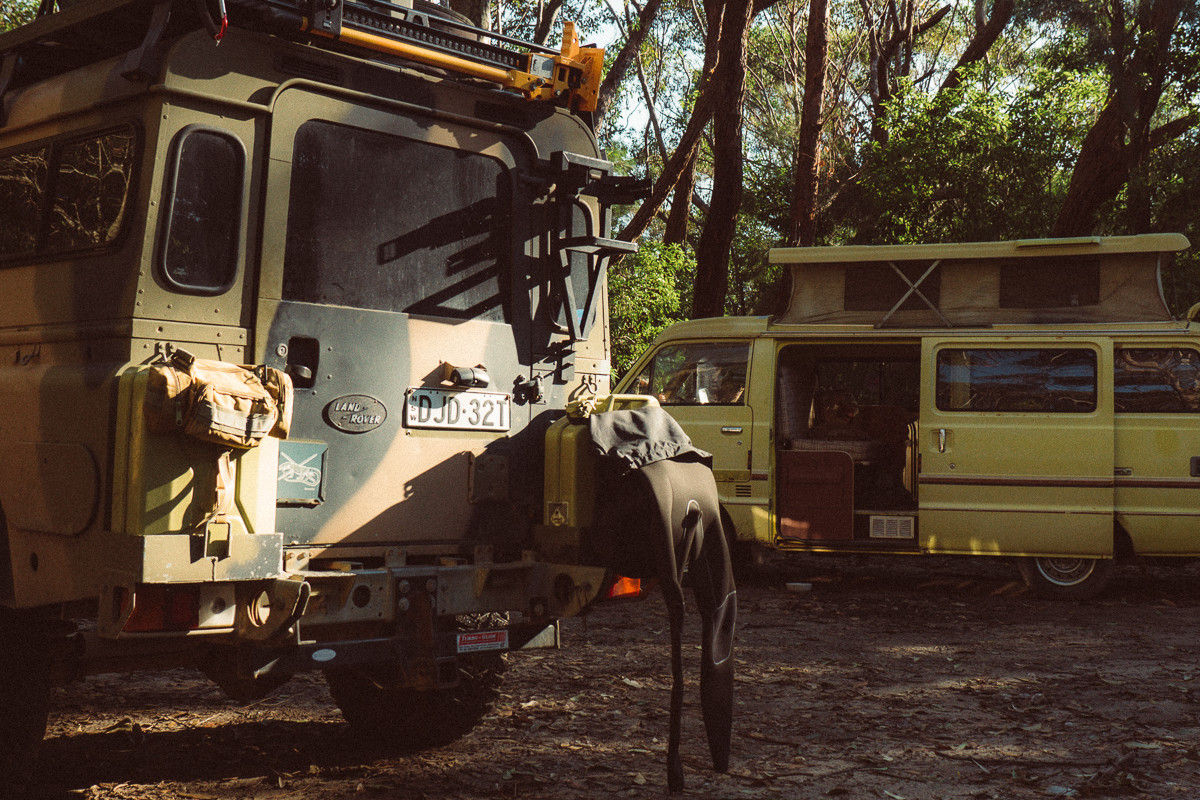 Stray Systems Jerry Can Bag Landrover Defender Wetsuit