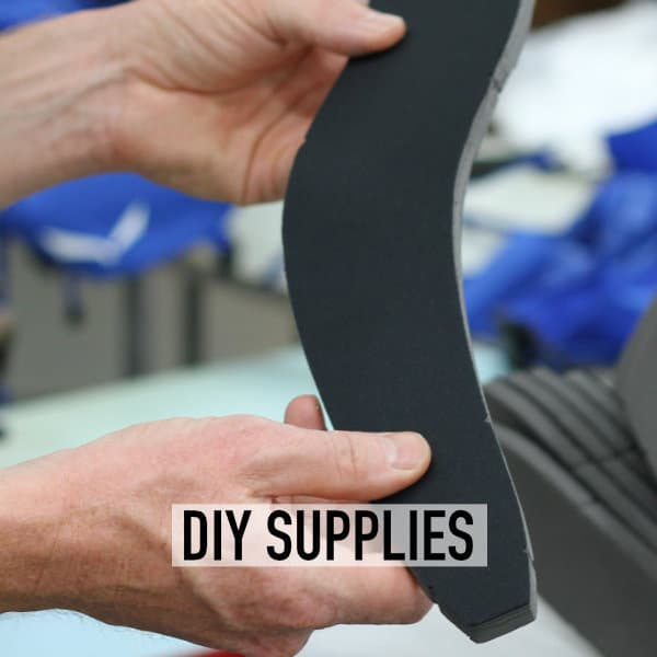 Components for DIY backpack manufacture