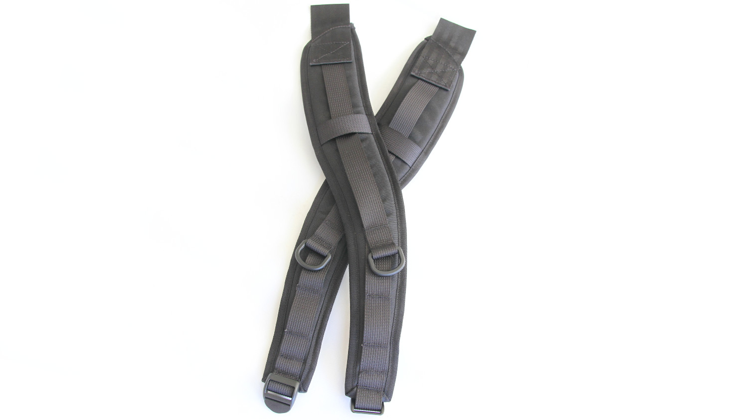 Professionally finished backpack shoulder straps for your DIY project